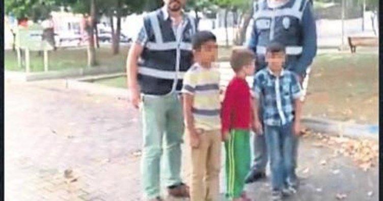 Çocukları dilendiren ailelere operasyon