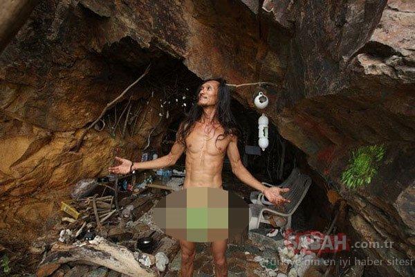 Mağarada çekilen çıplak fotoğraflar, olay yarattı!