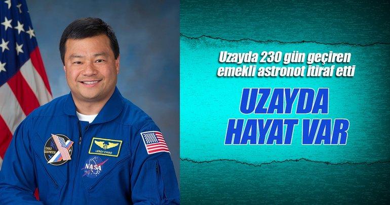 Emekli astronot: Uzayda hayat var