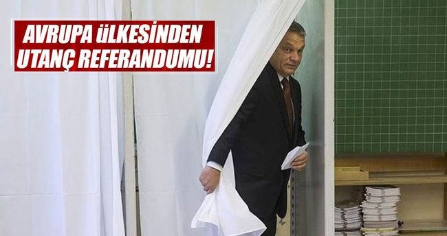 Macaristan'da sığınmacı referandumu