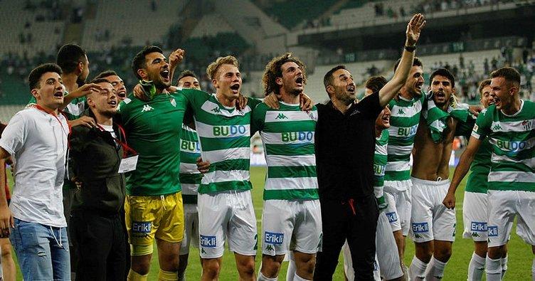 1. Lig'de en fazla altyapı oyuncusuna forma veren takım Bursaspor