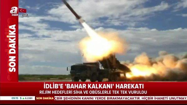 Suriye İdlib'de Esad Rejimine SİHA'larla ağır darbe vuruluyor! Stratejik noktalar böyle vuruldu | Video