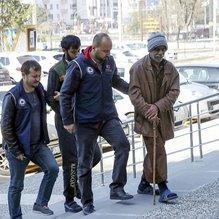 DEAŞ üyesi oldukları öne sürülen 3 Suriyeli adliyeye sevk edildi