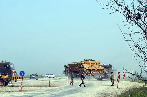 TSK'nın abluka altına aldığı Cinderes bölgesinden özel görüntüler