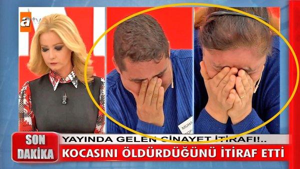 Müge Anlı'da canlı yayında kocasını öldürdüğünü itiraf etti! Alime Toprak  kocasını neden öldürdüğünü böyle anlattı... | Video