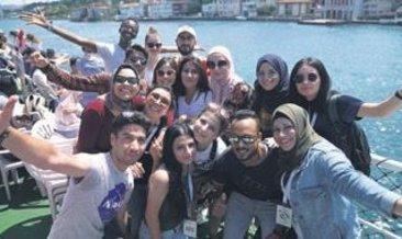118 ülkenin öğrencileri Türkiye' yi keşfetti