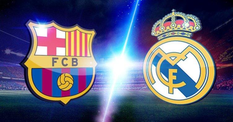 Barcelona Real Madrid maçı ne zaman saat kaçta? Barcelona Real Madrid maçı hangi kanalda?