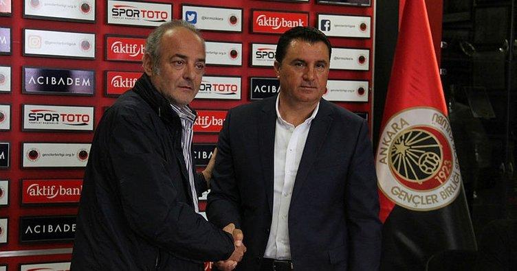 Gençlerbirliği, Mustafa Kaplan ile 1 yıllık sözleşme imzaladı