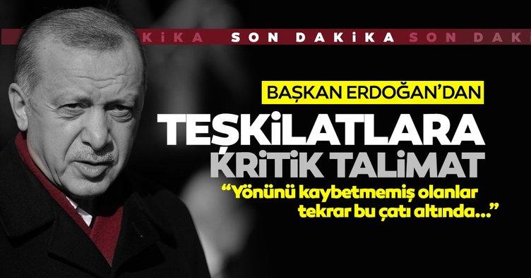 SON DAKİKA | Başkan Erdoğan'dan talimat: Önce kendi arkadaşlarımızın gönlünü alacak birleşeceğiz