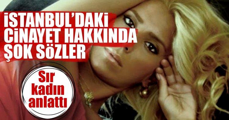 İstanbul'daki sır cinayetle ilgili çarpıcı iddia