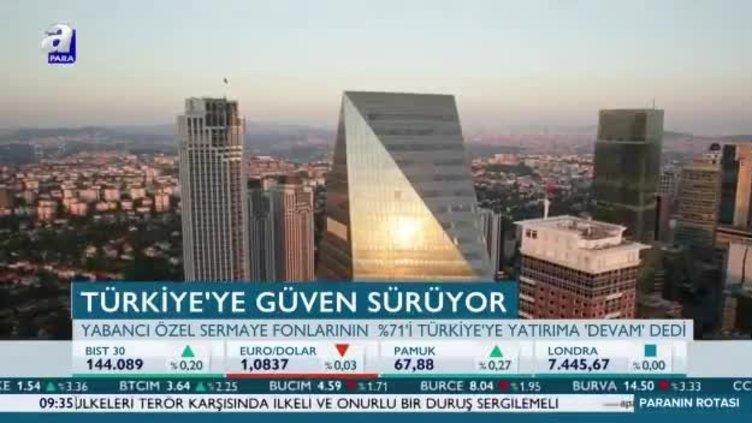 Türkiye'ye güven sürüyor