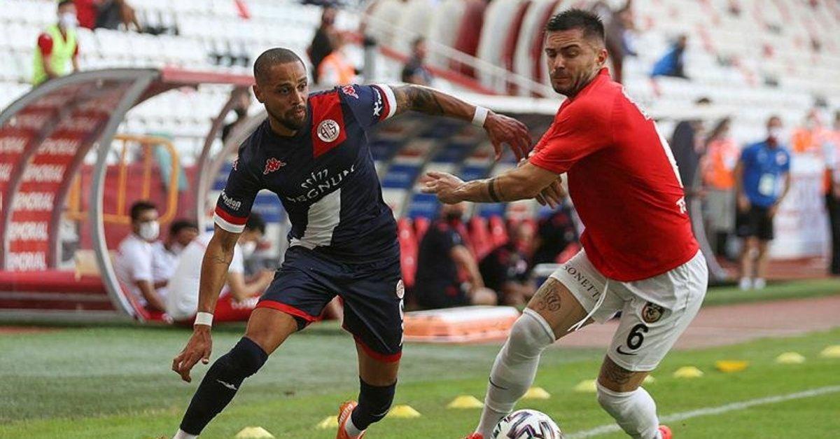 Antalya'da kazanan çıkmadı! Antalyaspor 1-1 Gaziantep FK