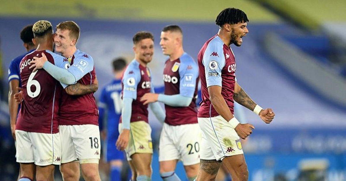 Aston Villa'nın son kurbanı Leicester! Leicester City 0-1 Aston Villa