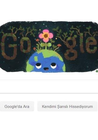 İlkbahar gündönümü 2019 ile ilgili Google'dan Doodle sürprizi!