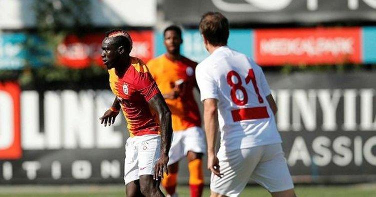 Galatasaraylı Mbaye Diagne'den '3 puan' gafı!