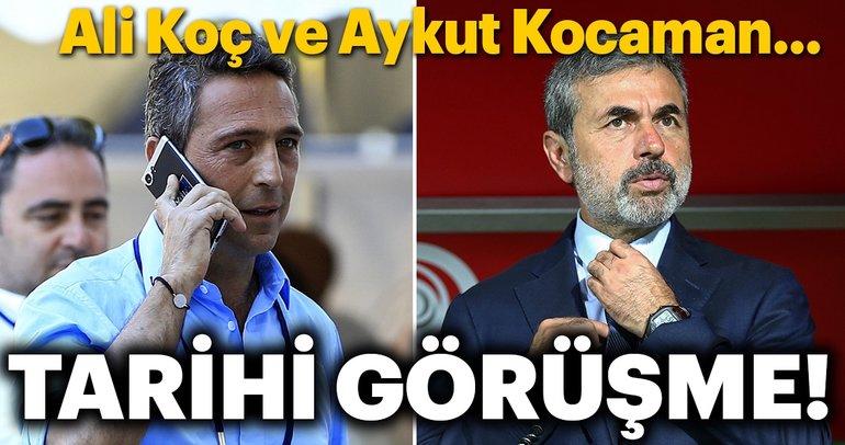 Aykut Kocaman ve Ali Koç görüşecek!
