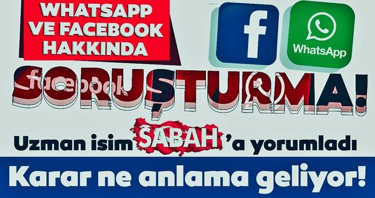 Son dakika: Türkiye'den WhatsApp ve Facebook hamlesi! Rekabet Kurumu'nun kararı ne anlama geliyor?