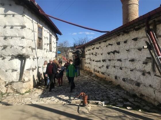 800 yıllık geçmişi olan köy büyük ilgi görüyor