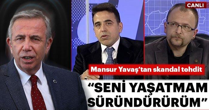 Mansur Yavaş'tan skandal tehdit: Seni yaşatmam süründürürüm