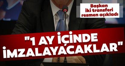 Son dakika transfer haberleri! Ahmet Ağaoğlu transferi resmen açıkladı