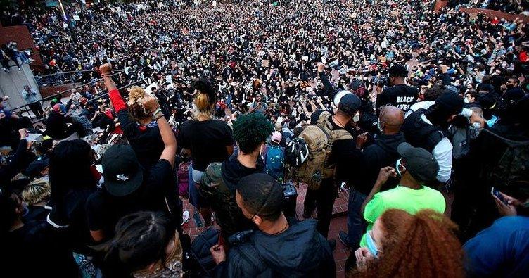 ABD'deki George Floyd protestoları ülke tarihindeki en geniş katılımlı eylem