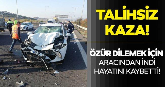 Mersin'de sürücüden özür dilemek için aracından inen kişiye arkadan araç  çarptı, sürücü öldü - En Son Haber