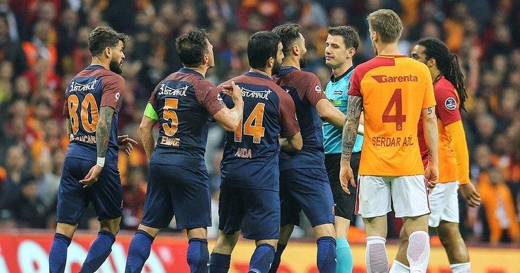 Galatasaray ve Medipol Başakşehir PFDK'ye sevk edildi