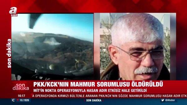 SON DAKİKA: Terör örgütü PKK/KCK'ya bir darbe daha! Sözde Mahmur sorumlusu Hasan Adır da etkisiz hale getirildi