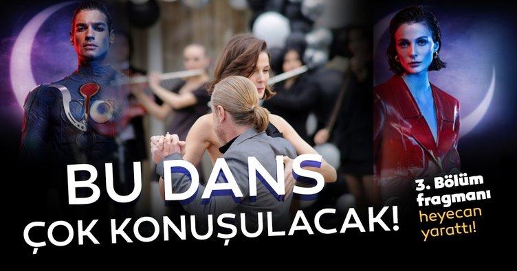 Akıncı, 3. bölümü dans sahnesiyle konuşulacak! Büşra Develi ve Yıldıray Şahinler'den tango şovu!