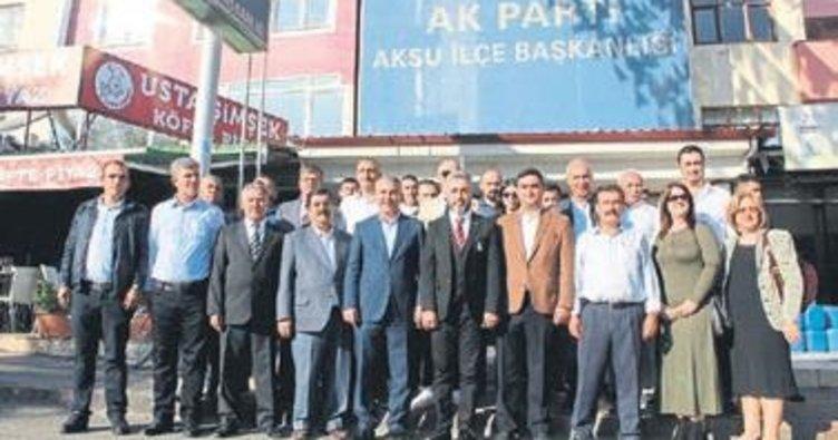 Aksu AK Parti'de Karataş aday adayı