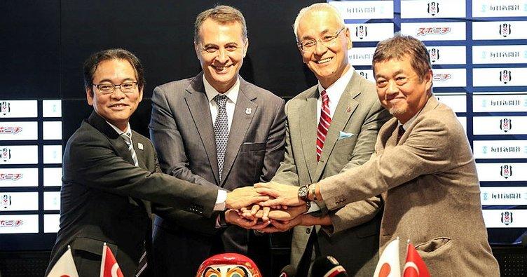 Beşiktaş'tan Japon açılımı