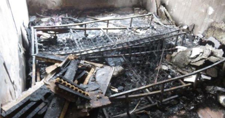 Ataşehir'deki dehşet dakikalarının yaşandığı o daire görüntülendi