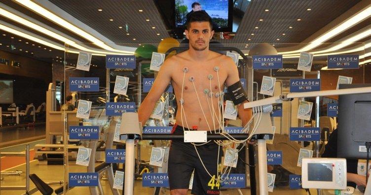 Malatya'da Aleksic sağlık kontrolünden geçti