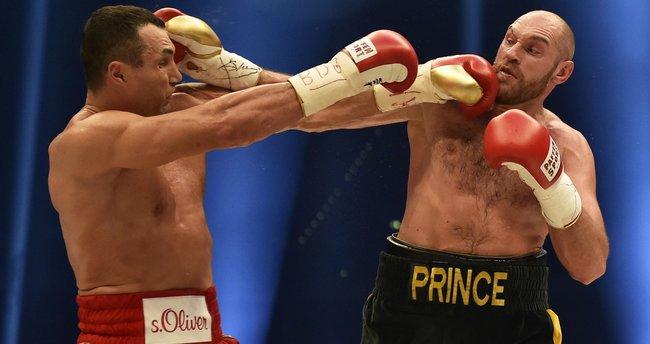 Fury ile Klitschko arasındaki rövanş maçı 29 Ekim'de