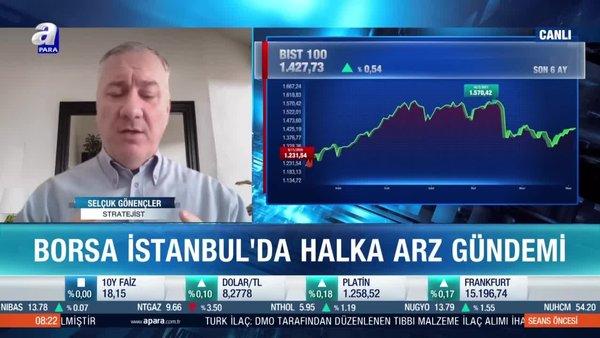Stratejist Selçuk Gönençler: Yatırımcılar 'Kar al' seviyesi belirlemeli