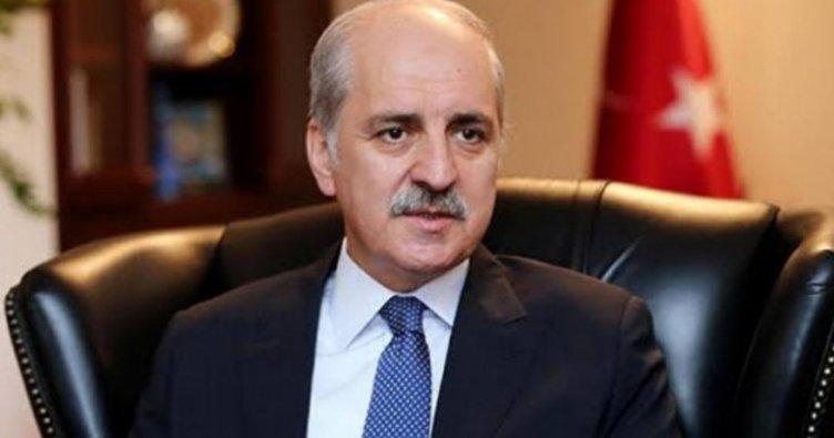 AK Parti Genel Başkanvekili Numan Kurtulmuş'tan önemli açıklamalar!