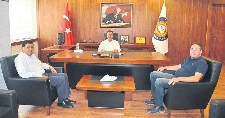 Tarsus TSO'da tarım ve pandemi görüşmesi