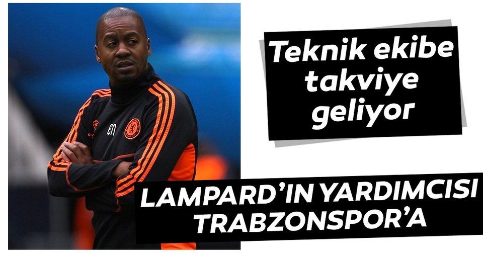 Trabzonspor'dan teknik heyete Eddie Newton takviyesi