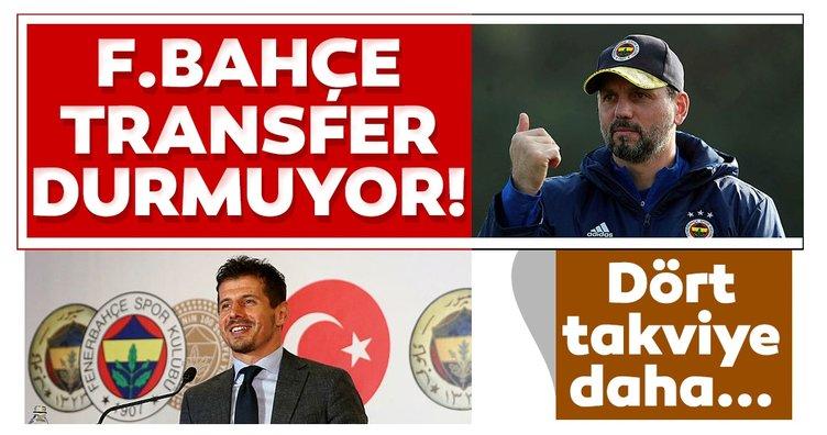 Son dakika: Fenerbahçe transferde durmuyor! 4 takviye daha