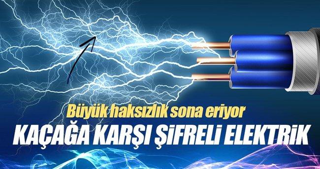 Elektrikte kaçağa karşı şifreli dönem geliyor