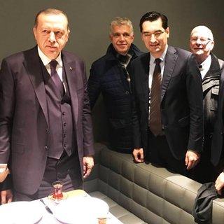 UEFA'dan Cumhurbaşkanı Erdoğan'a tebrik