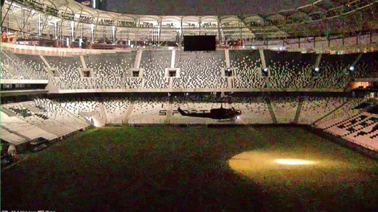 İşte hain darbecilerin Vodafone Arena'ya verdiği zarar