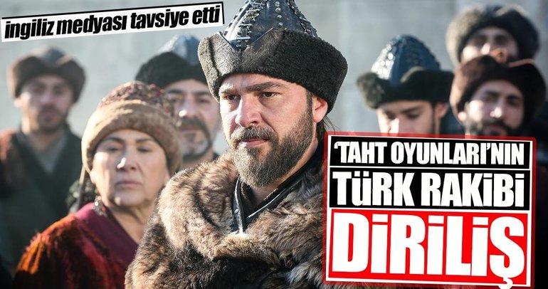 'Taht Oyunları'nın Türk rakibi: Diriliş