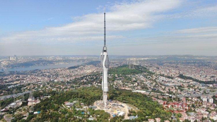 Çamlıca Televizyon Kulesi'nde sona yaklaşılıyor