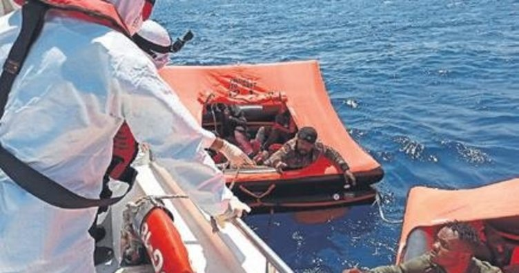Yunan geri itti Türkler kurtardı