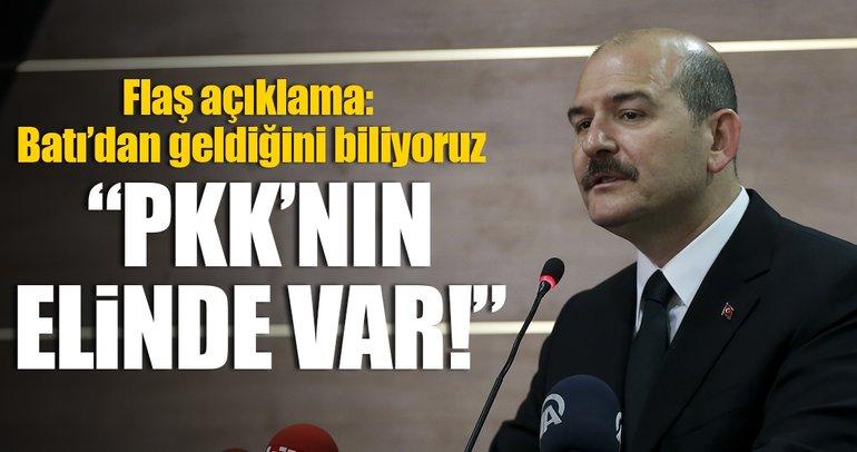 Soylu: PKK'nın elinde 11 yeni nesil füze var