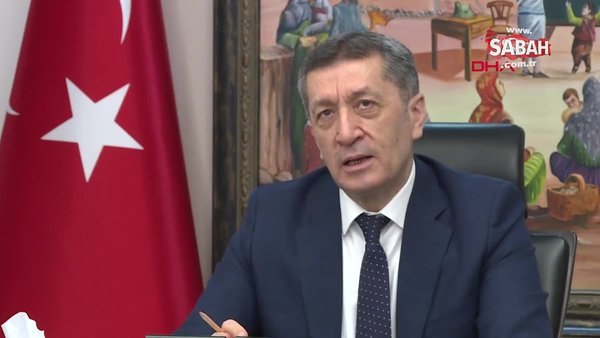 SON DAKİKA: Milli Eğitim Bakanı Ziya Selçuk'tan flaş 'yüz yüze sınav' açıklaması!
