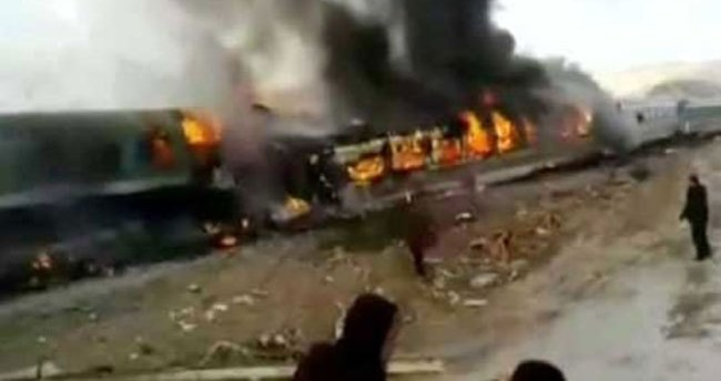 İran'daki tren kazası: 36 ölü!