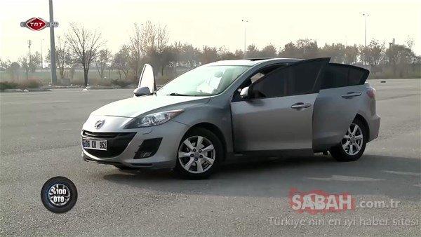 Mazda sahibi genç gözlerine inanamadı!