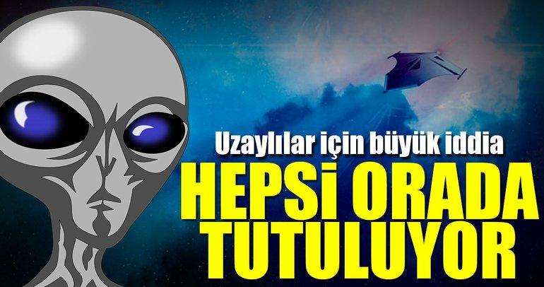 """""""Uzaylılar 51'inci Bölge'de"""" iddiası"""